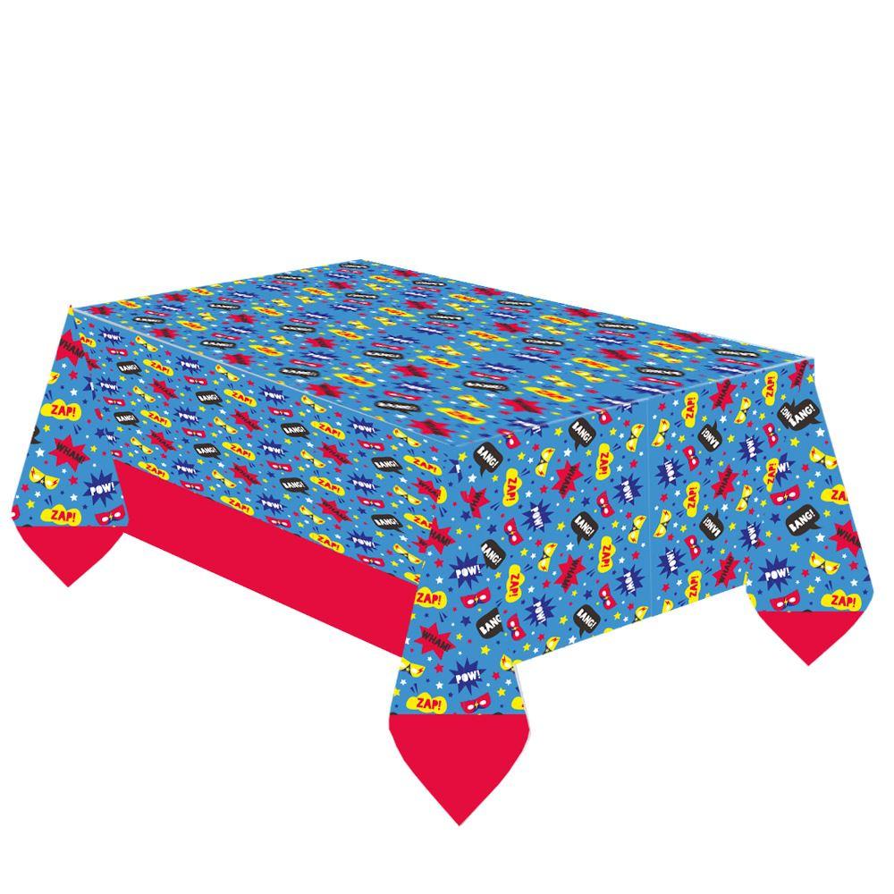 Superhero Paper Table Cover 1.2m x 1.8m