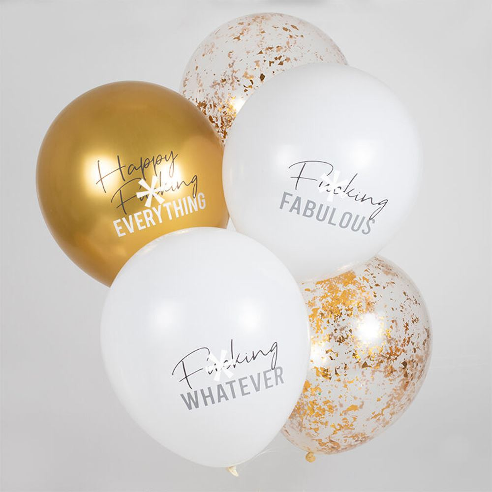 Happy FXXking Everything Bunting Adult Bunting