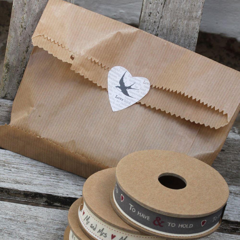 90 Wedding Favour Bags, Kraft Brown Mr & Mrs' Paper Bags, Wedding Paper Party Bags, Mr Mrs Craft Bags, Candy Bar Bags, Sweet Bags