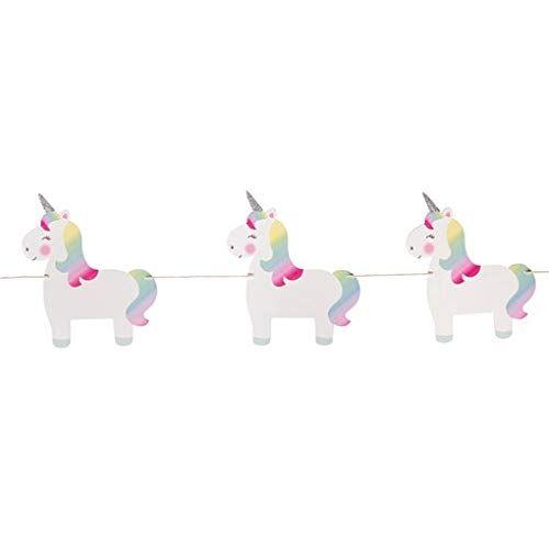 Wooden Unicorn Bunting, Unicorn Bedroom Decorations, Unicorn Party Garland, 1st Birthday Party Decor, Rainbow Party