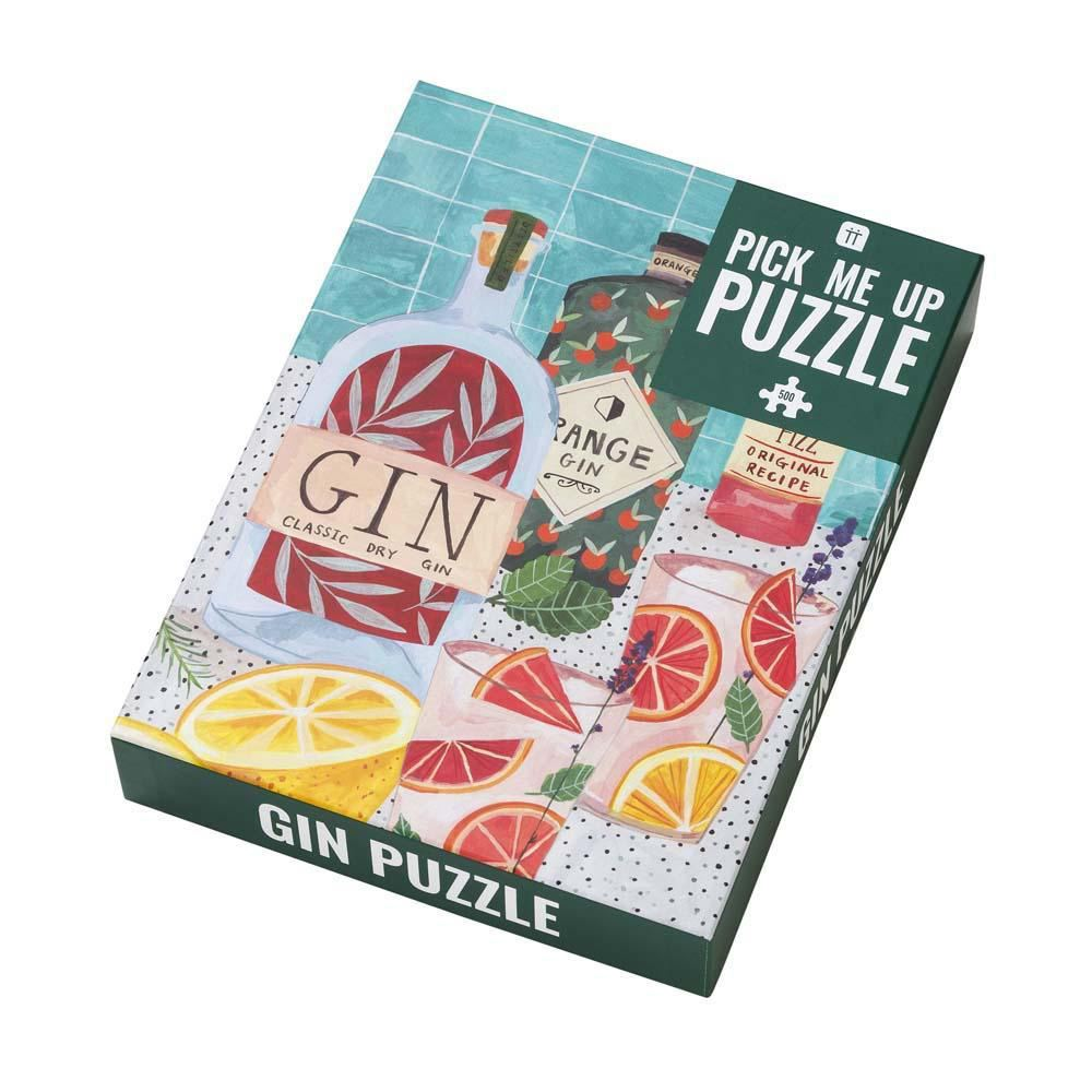 Lockdown Gift Jigsaw Puzzle, Gin Lovers Puzzle Birthday Gift, Christmas Gift, Gin Board Game, Party Gin Present, Gin Gift, 500 Piece