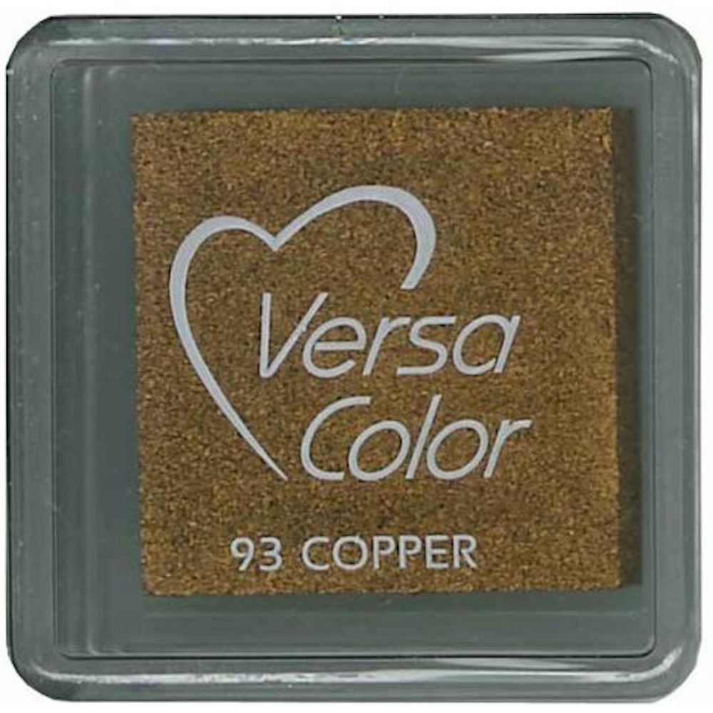 Versacolor Copper Small Pigment Ink Pad, Stamp Pad, Stamp Ink, Ink For Stamp, Inkpad For Rubber Stamp, Colour Ink Pad, Scrapbooking