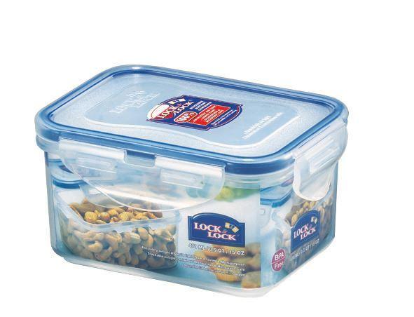 High Quality Lock U0026 Lock HPL807 Rectangular Food Storage Container Tub 470ml