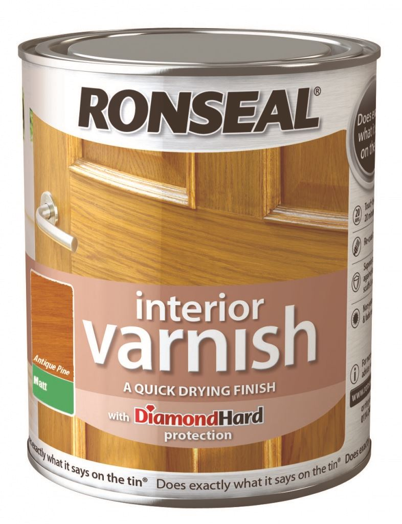 Ronseal interior varnish matt 250ml 7 colours antique pine ebay - Exterior wood paint matt pict ...