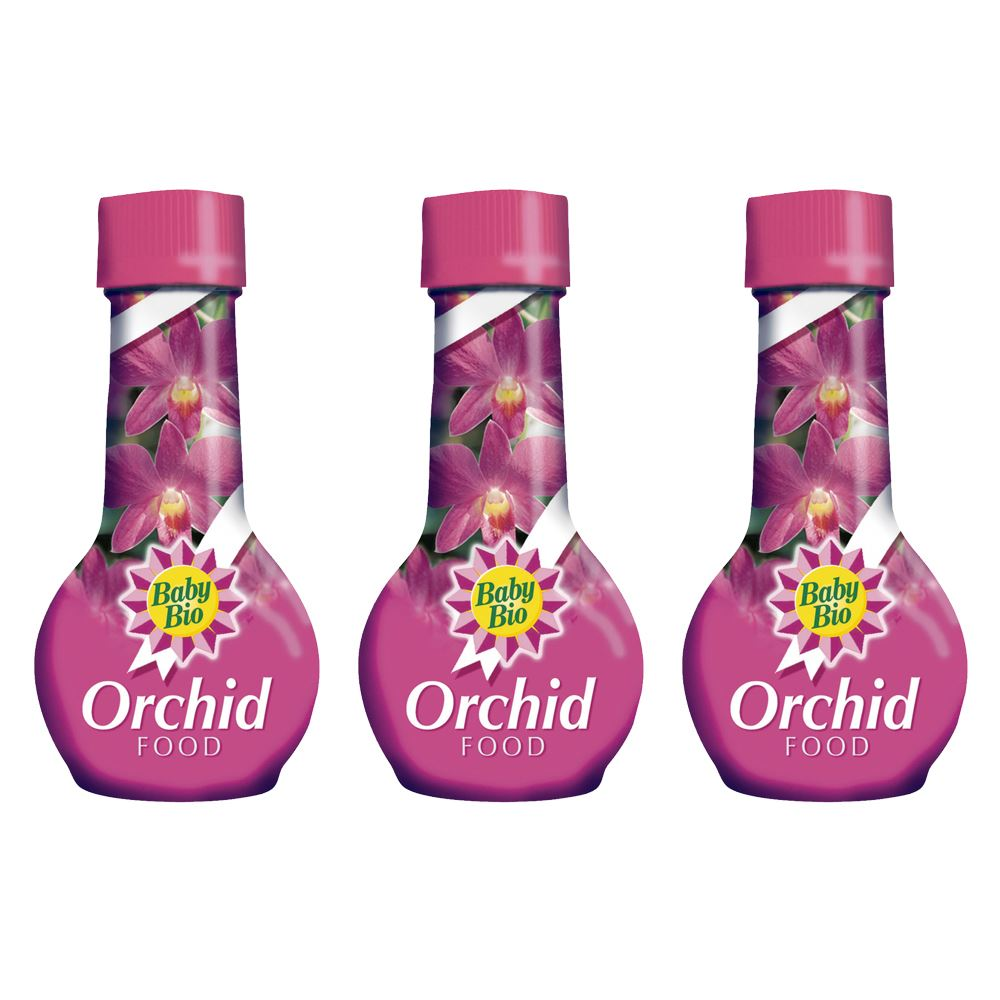 Details About Bayer Garden Baby Bio Orchid Plant Food Feed 175ml Triple Pack