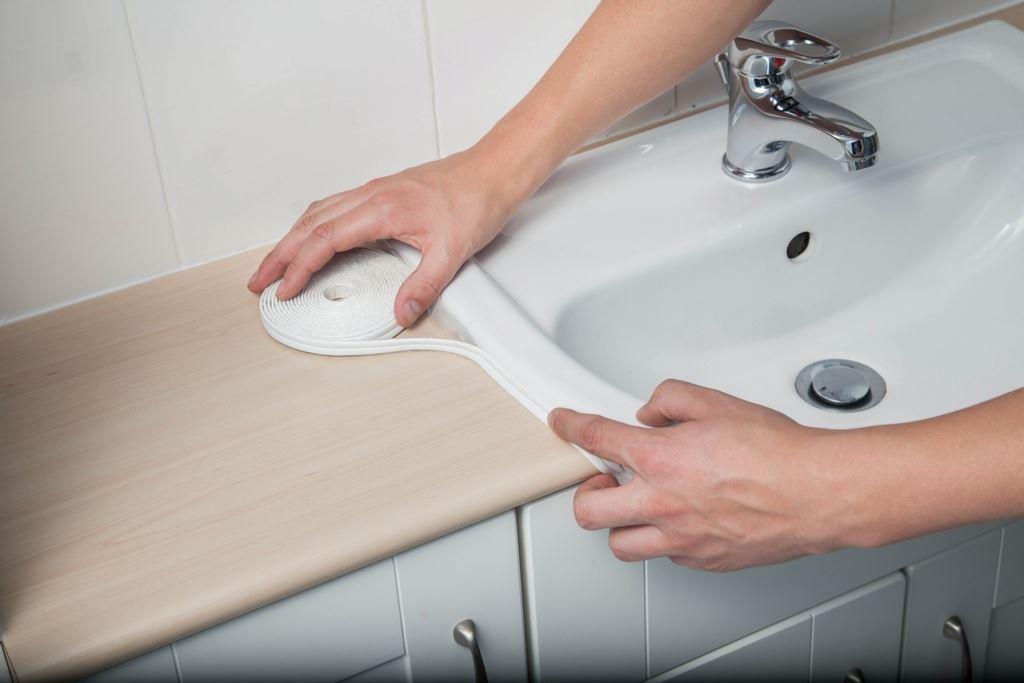 supadec trim seal bath shower basin sealant strip. Black Bedroom Furniture Sets. Home Design Ideas