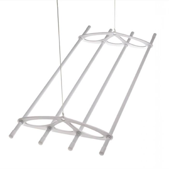 Silverstyle 6ft White Hanging Ceiling Laundry Clothes