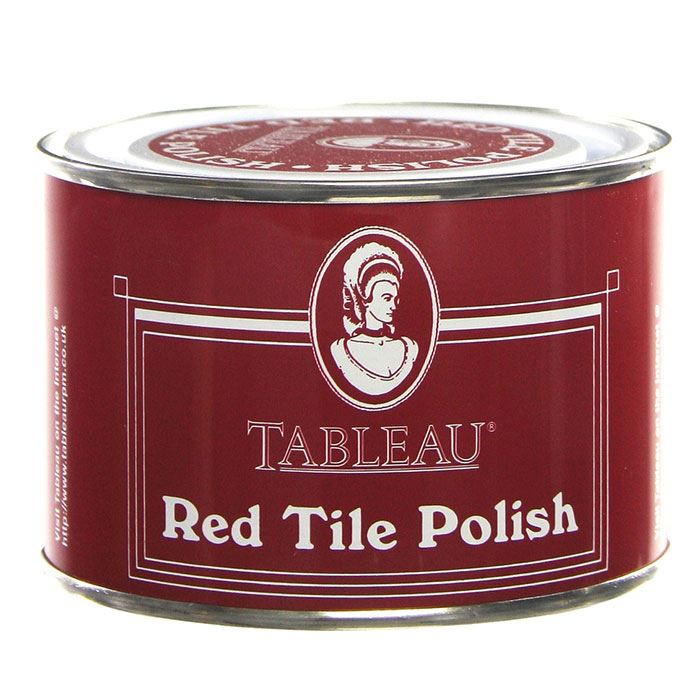 Tableau Tin Red Coloured Tile Floor Wax Polish 250ml Ebay