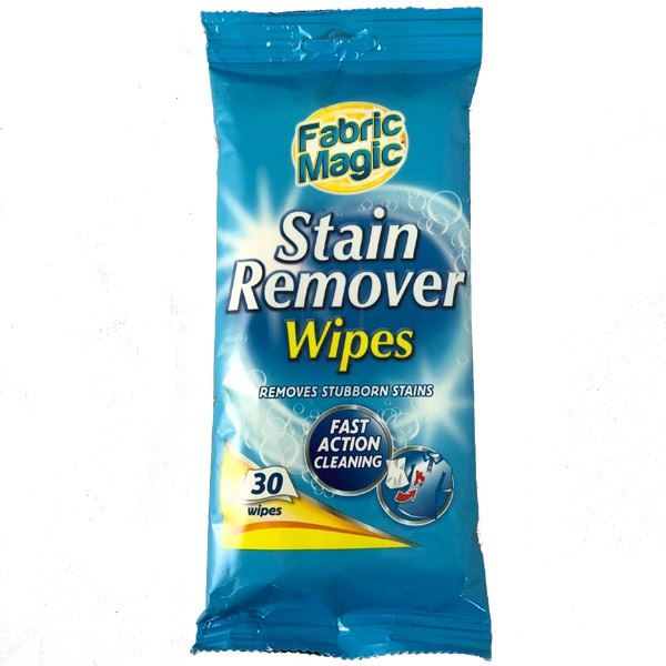 Cleaning Fabric Magic Stain Remover Wet Wipes Furniture Sofa Clothes   30  Wipes