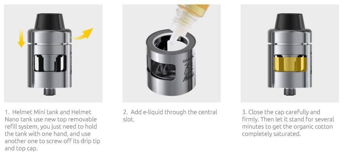 smok osub 40w instructions