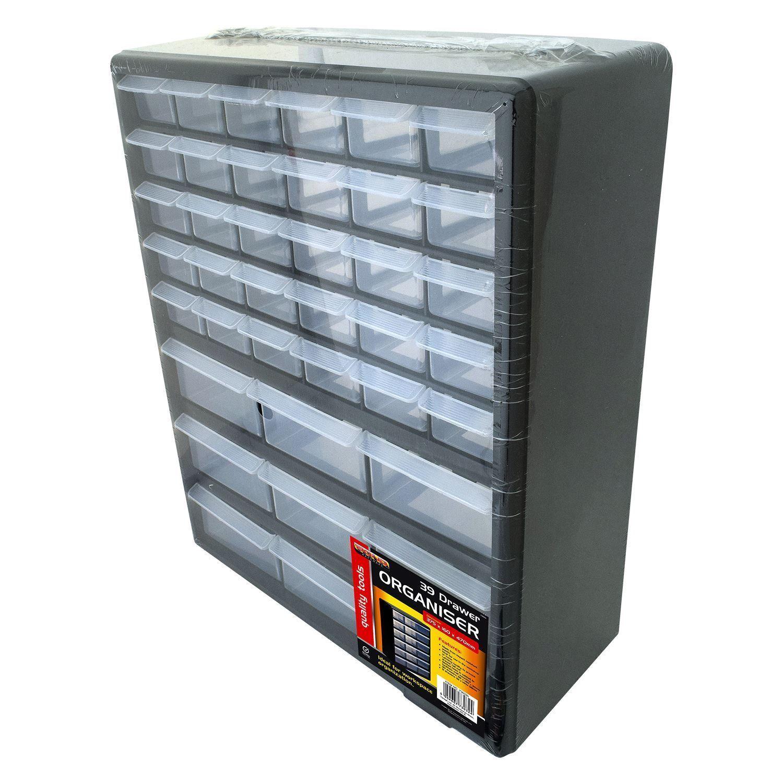Bond Hardware 39 Drawer Black Multi Tools Diy Storage Cabinet