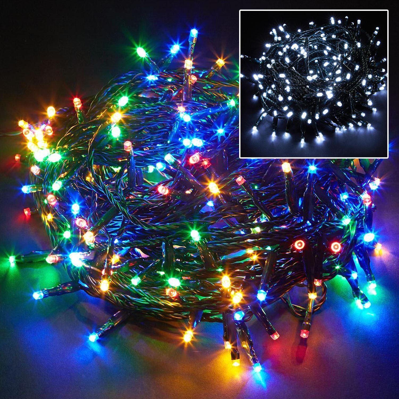 100 200 400 Led Chaser String Fairy Lights Christmas Xmas