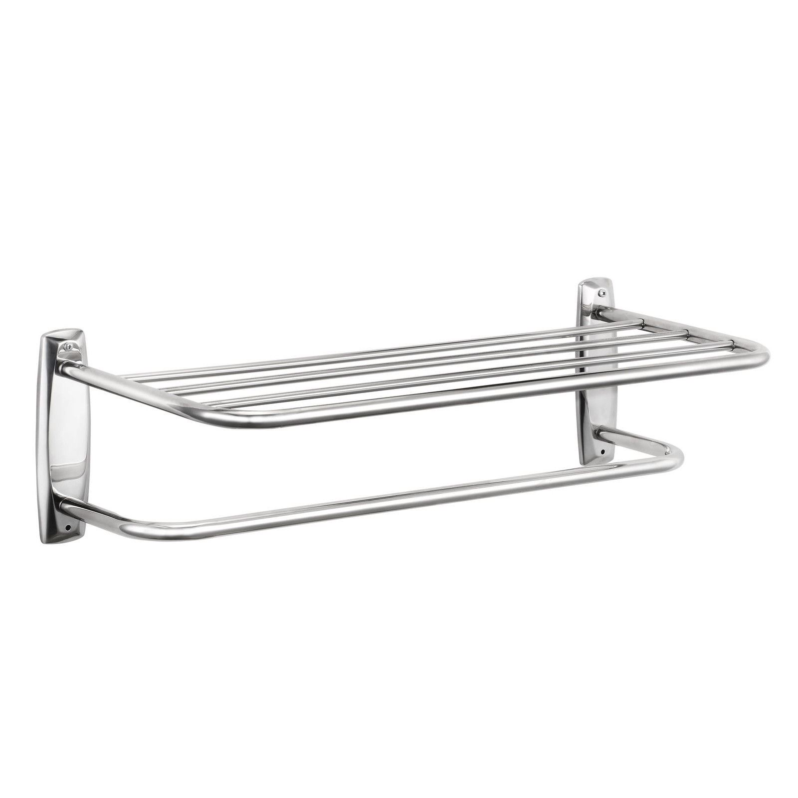 bathroom cabinet with towel rail modern chrome quality bathroom shelf towel stand rack 21988