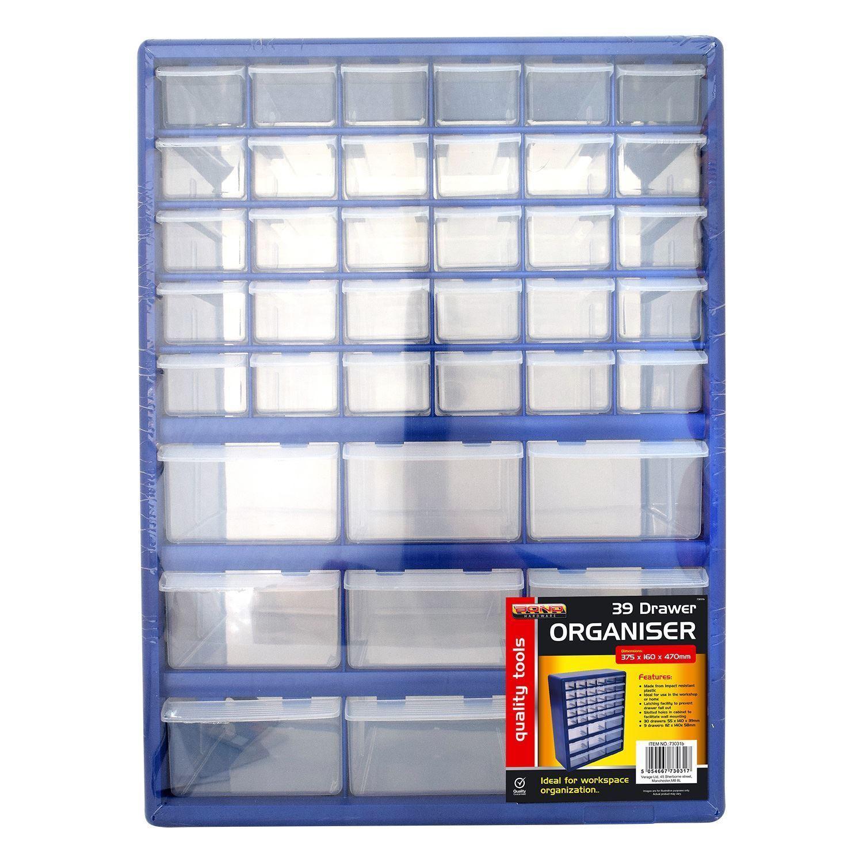 39 Drawer Multi Compartment Garage Home Diy Tool Organiser Storage