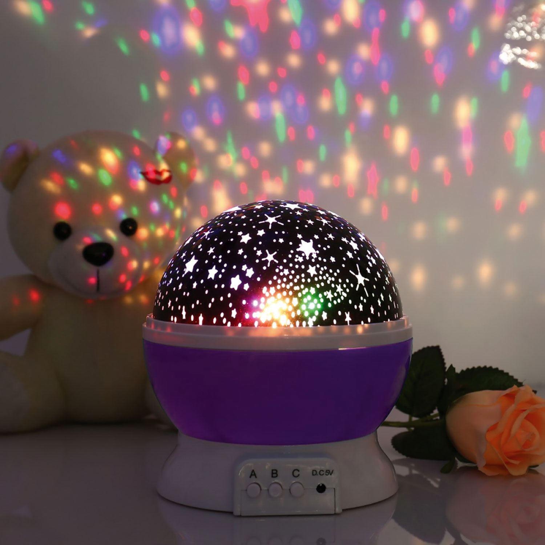 thumbnail 13 - LED Starry Night Sky Rotating Projector Lamp Star Cosmos Master Romantic