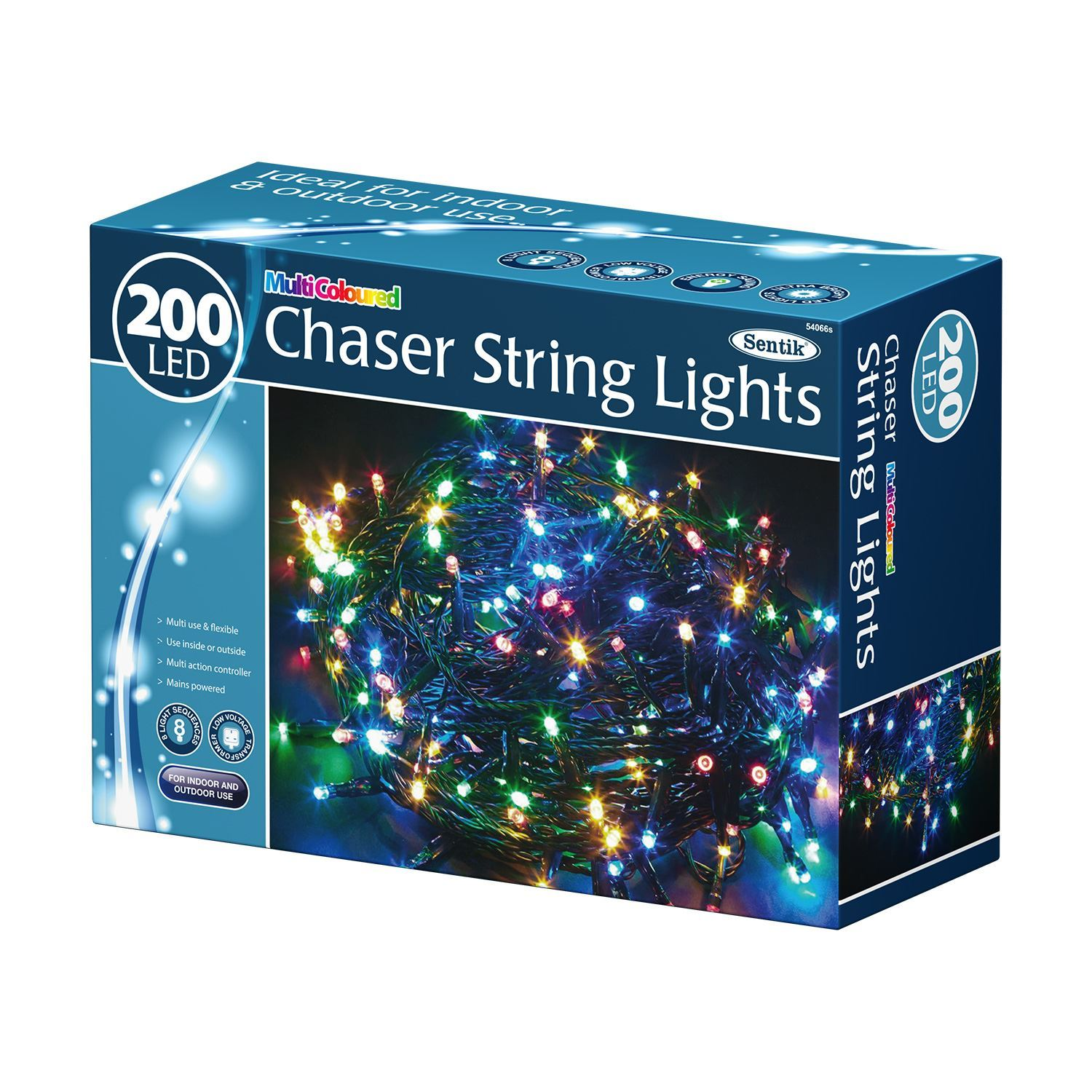 100/200/400 Led Chaser String Fairy Indoor Outdoor Lights