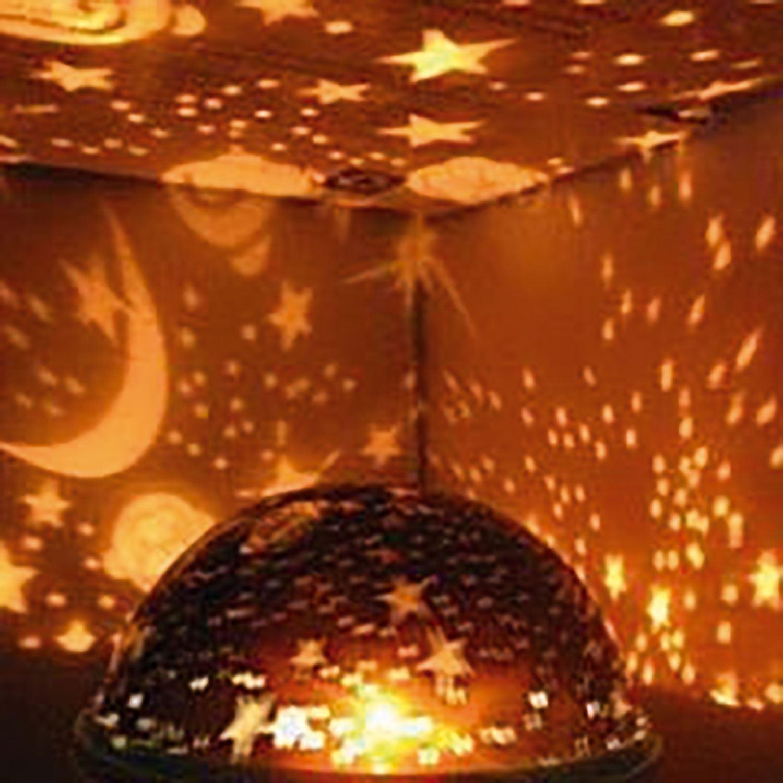 thumbnail 4 - LED Starry Night Sky Rotating Projector Lamp Star Cosmos Master Romantic