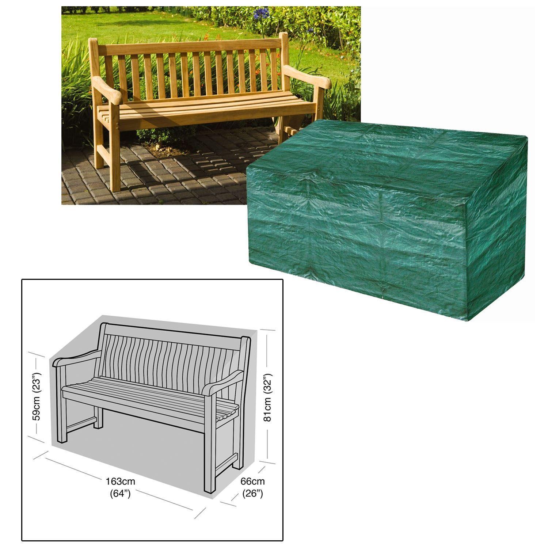 Waterproof 3 Seater Outdoor Garden Park Furniture Bench Seat Cover
