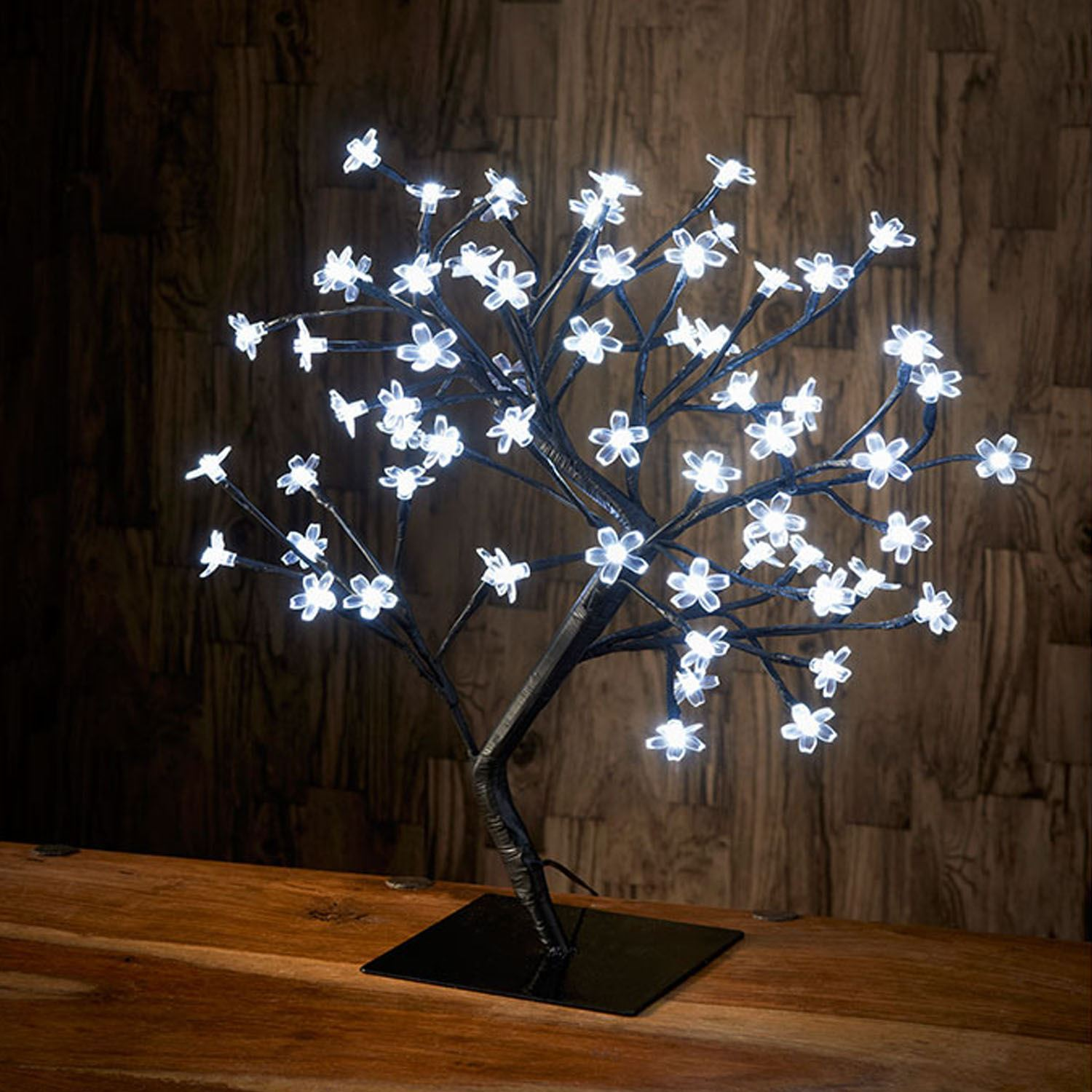 Led Decor Lights: 45cm Led Cherry Blossom Bonsai Tree Fairy Xmas Christmas