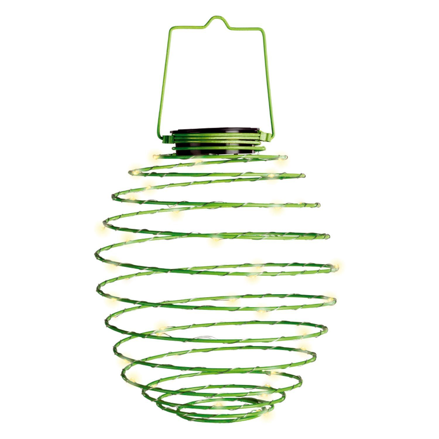 Outdoor 45 Leds Garden Solar Hanging Beehive Style Spiral