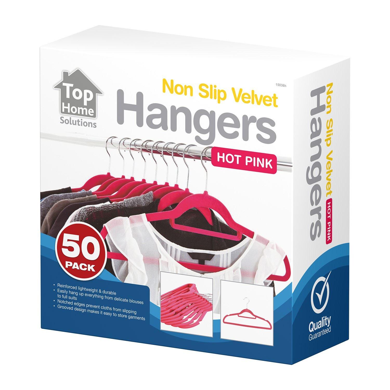 Non-Slip-Velvet-Hangers-Coat-Clothes-Scarf-Trouser-Hanging-Hangers-New thumbnail 7