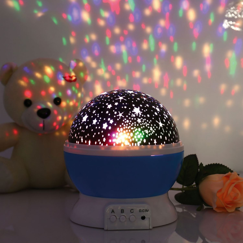 thumbnail 5 - LED Starry Night Sky Rotating Projector Lamp Star Cosmos Master Romantic