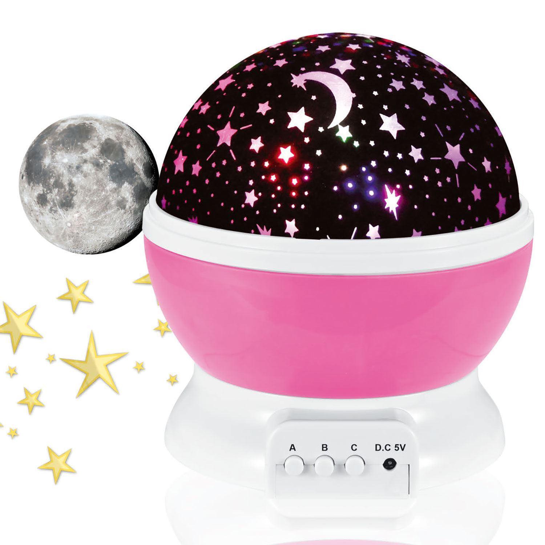 thumbnail 8 - LED Starry Night Sky Rotating Projector Lamp Star Cosmos Master Romantic
