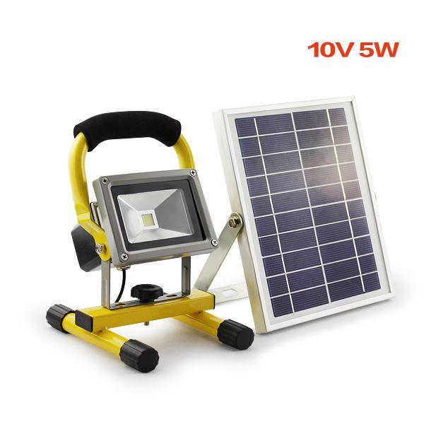 5W PORTABLE LIGHT SOLAR PANEL ALUMINIUM FRAME WORK CAMPING
