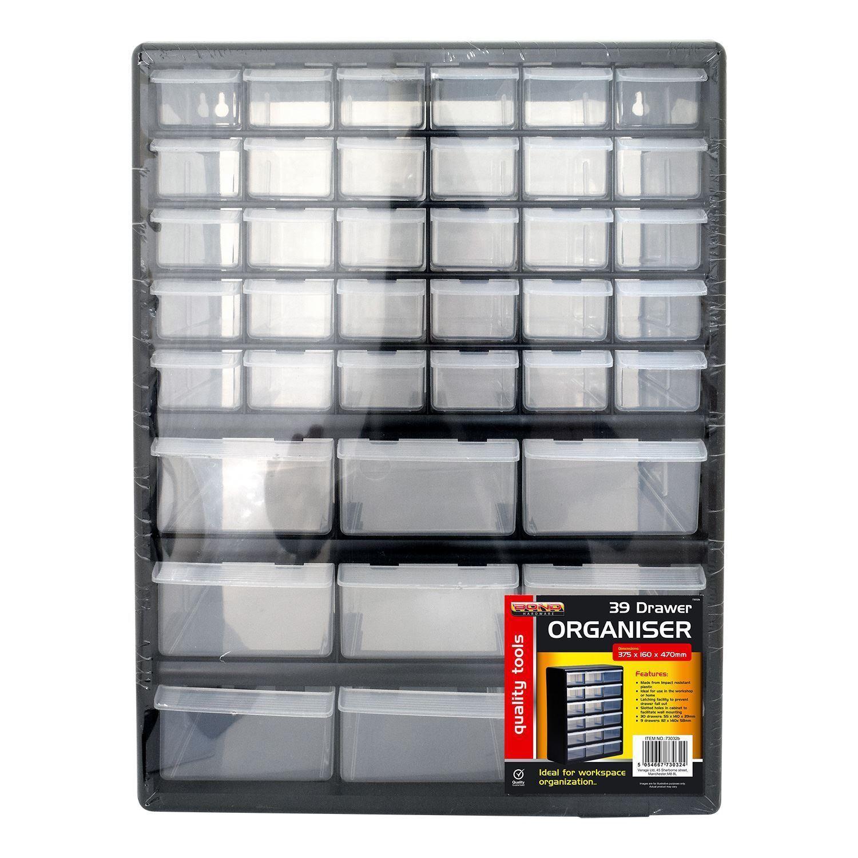 39 Drawer Multi Compartment Organiser Cabinet Garage Home Diy Tool