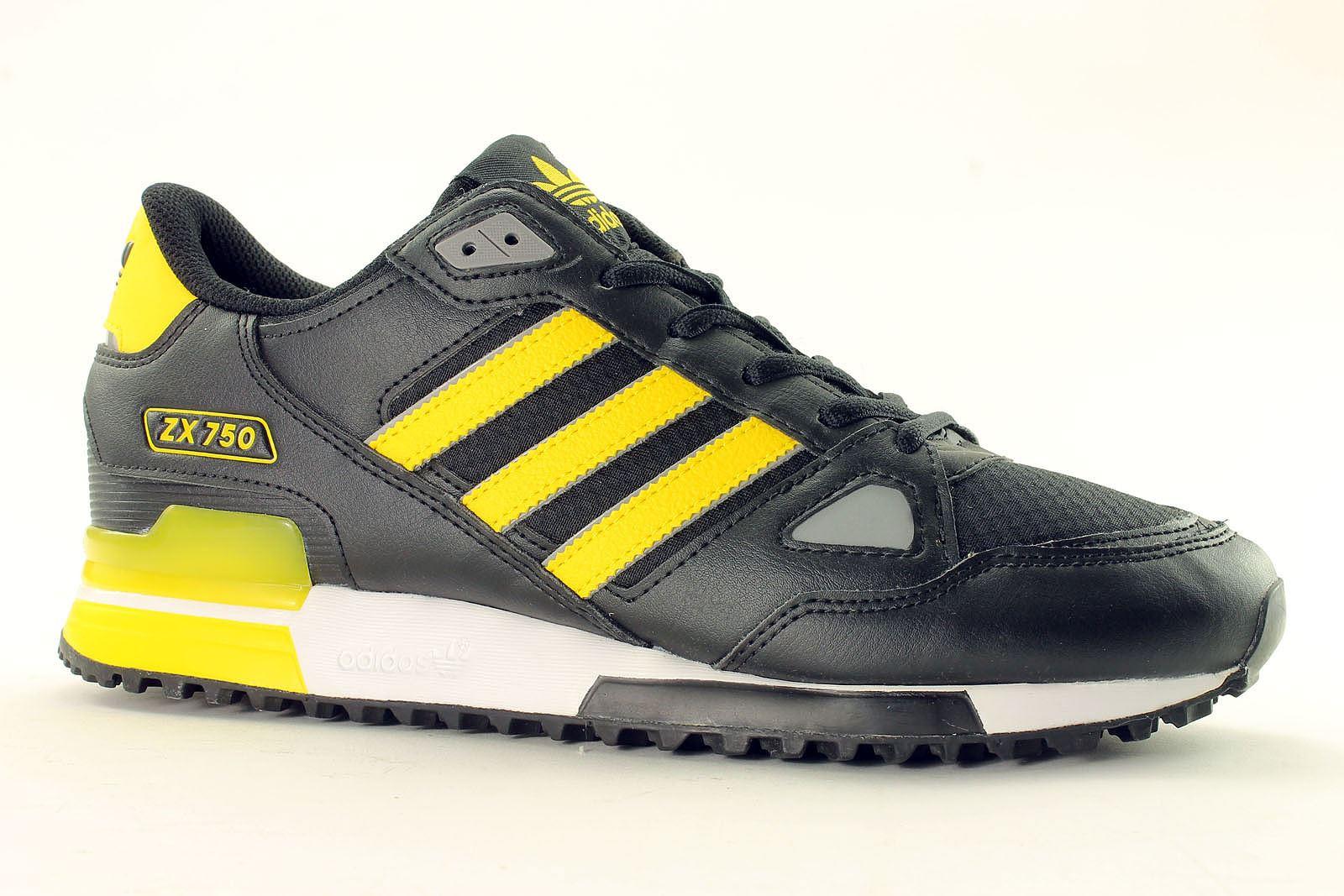reputable site e4d6d b6726 adidas zx 750 estive gialle