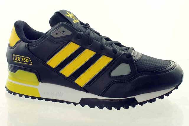 new style 876e7 427a1 adidas-ZX-750-Mens-Trainers-Originals-UK-3-