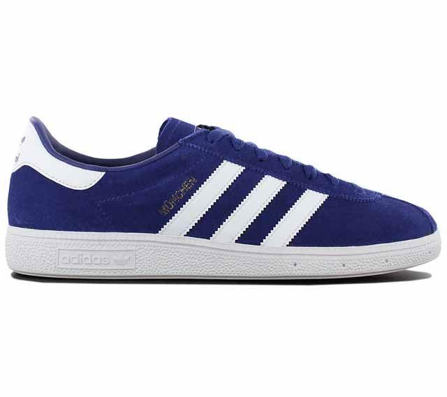 Détails sur Adidas Munchen BY9787 ~ Baskets Homme ~ RRP £ 79.99 ~ Tailles UK 6 To 11.5 afficher le titre d'origine