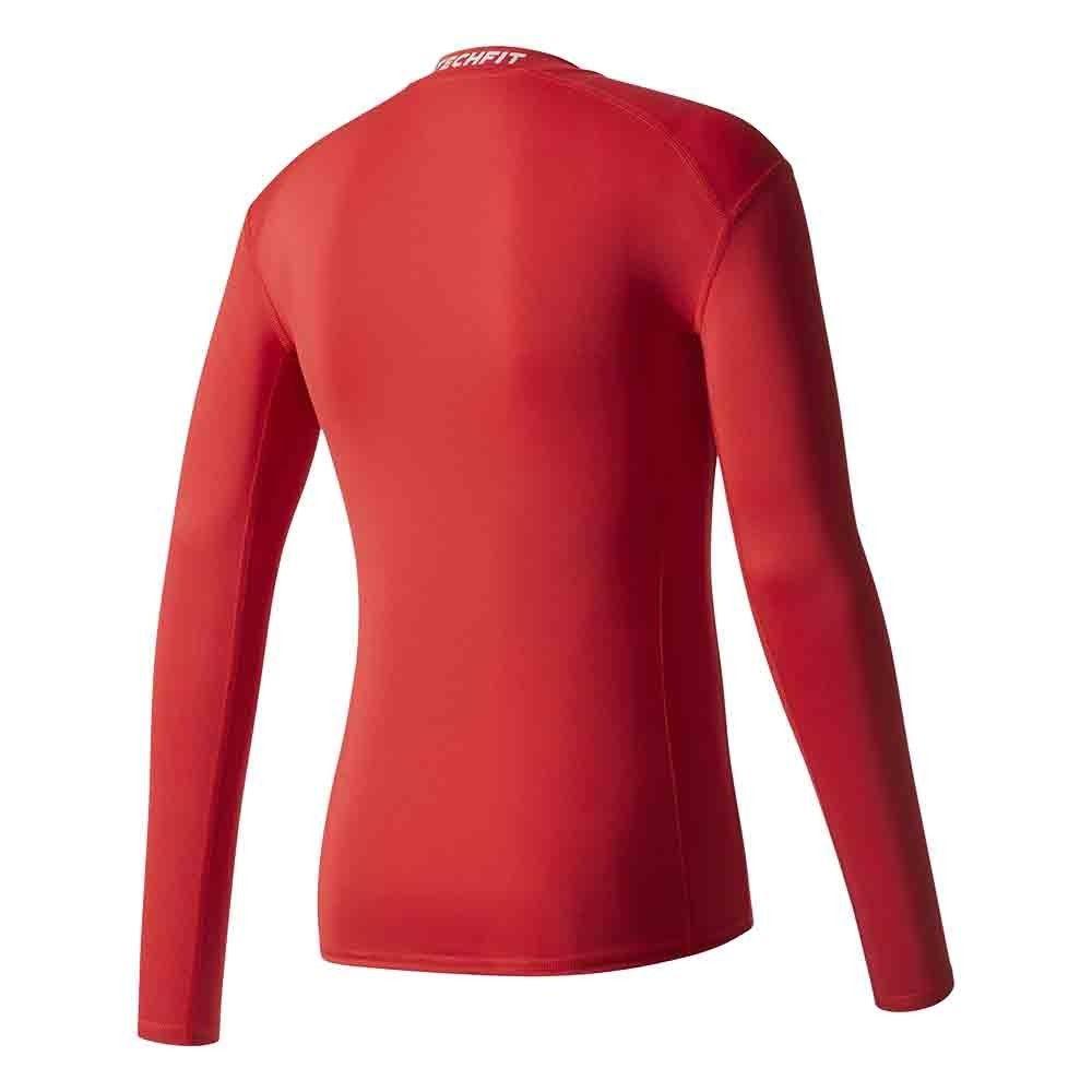 adidas-TechFit-Base-Layer-Shirt-Mens-Compression-Top-ClimaLite-All-Sizes-RRP-22 thumbnail 9