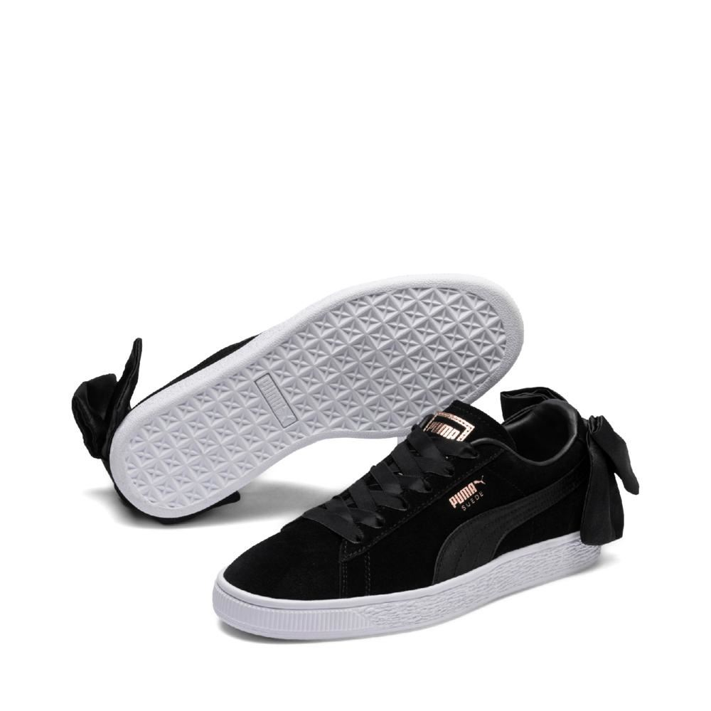Puma-Suede-Bow-Womens-Trainers-RRP-70-Sizes-UK-3-to-7-5 miniatuur 4