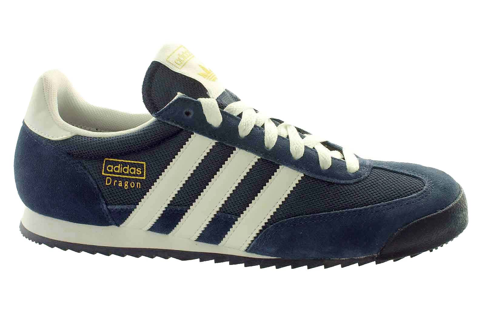 adidas dragon mens trainers blue