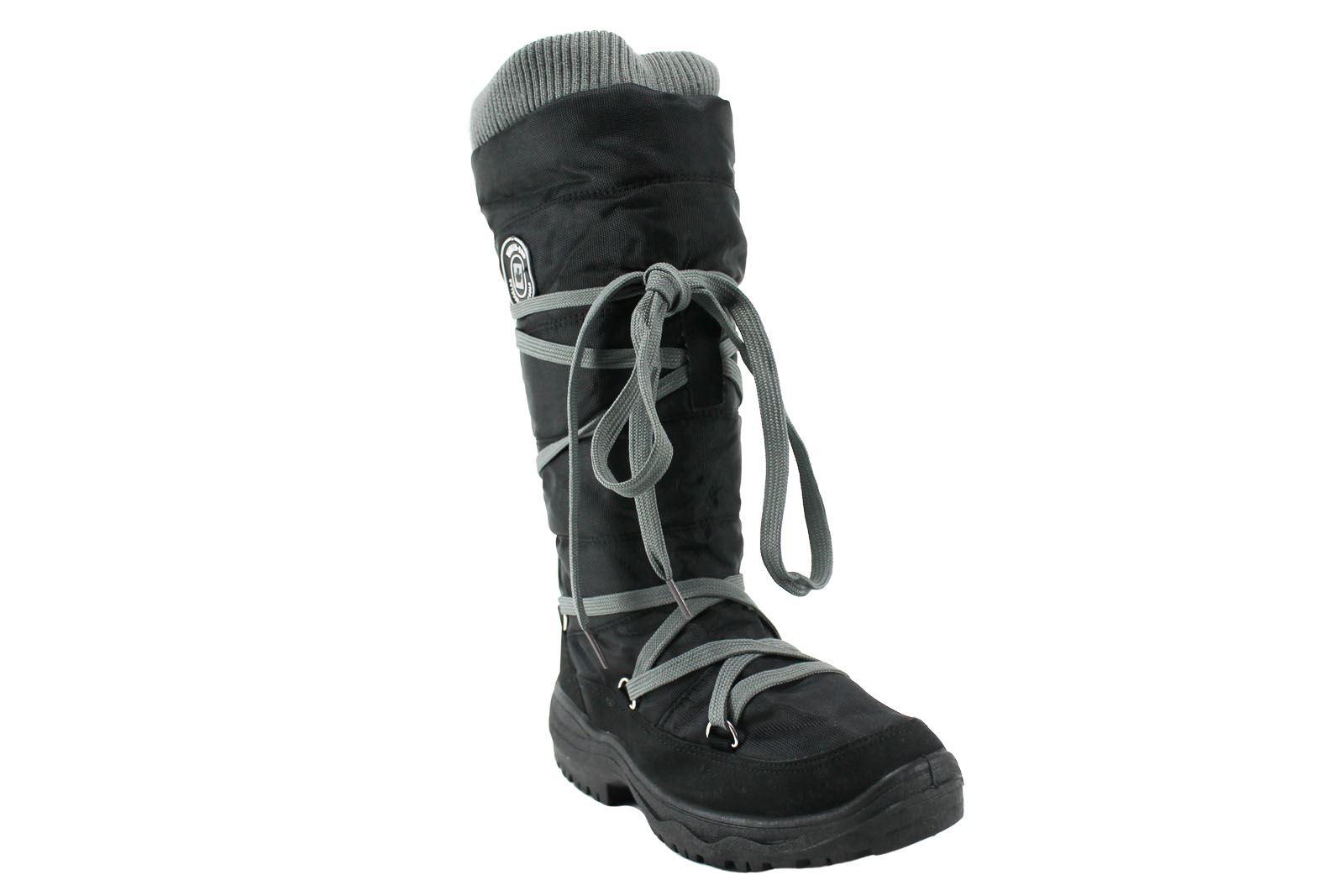 Womens-Schreuders-Sport-Lumbertrotter-Snowboots-Winter-Grip-UK-2-5-7