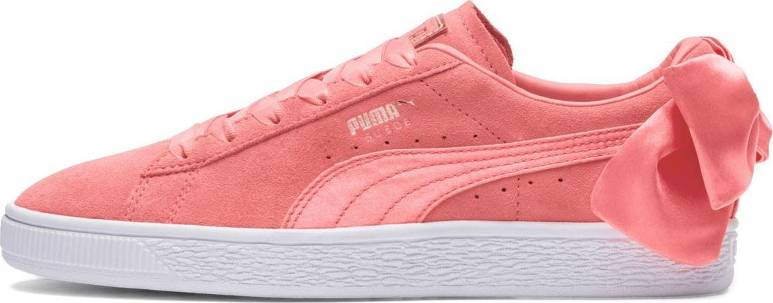 Puma-Suede-Bow-Womens-Trainers-RRP-70-Sizes-UK-3-to-7-5 miniatuur 9