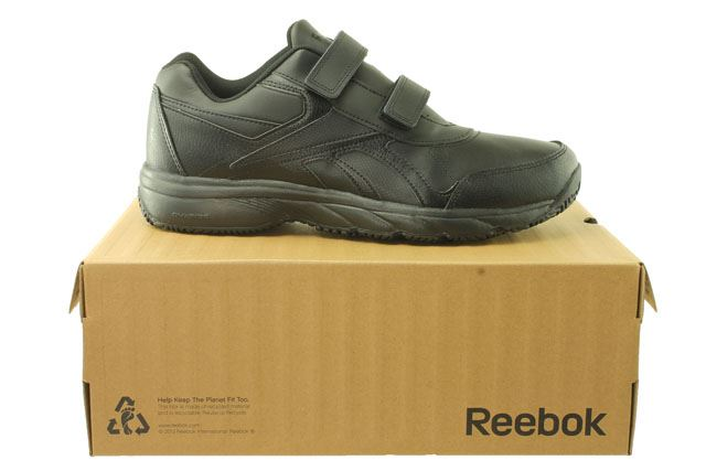 Reebok-Work-039-n-039-Cushion-KC-Mens-Trainers-Leather-CLEARANCE-PRICE Indexbild 7