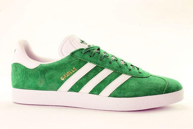 adidas gazelle mens green