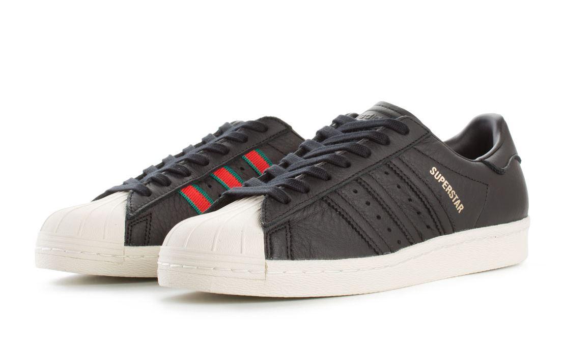 uk availability d8fd9 450ed Caricamento dell immagine in corso ADIDAS-Superstar-anni-039-80-CQ2656- Sneaker-Uomo-