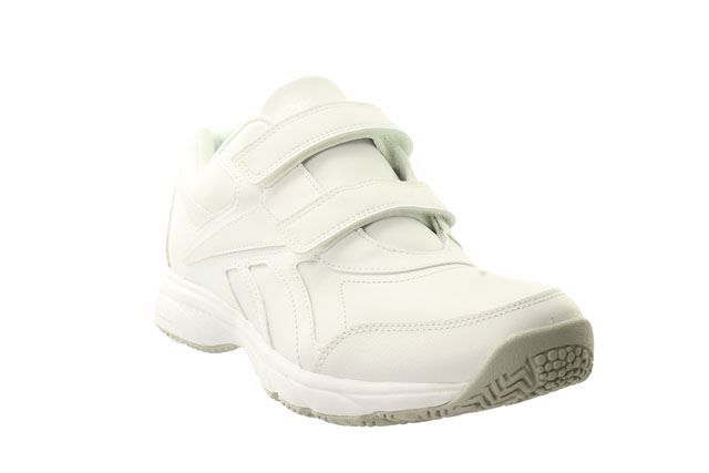 1cc19cefd028 Reebok Work N Cushion Leather Velcro Mens Trainer UK 5.5 to 14 2 Colours  10.5 White. About this product. Picture 1 of 11  Picture 2 of 11  Picture 3  of 11 ...