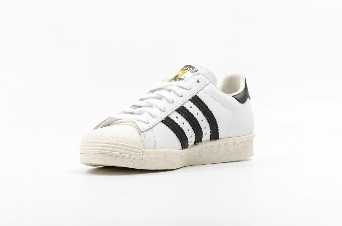 Hommes Superstar Baskets ~ € 80's 99 Adidas ~ originaux 99 2IEWH9YD