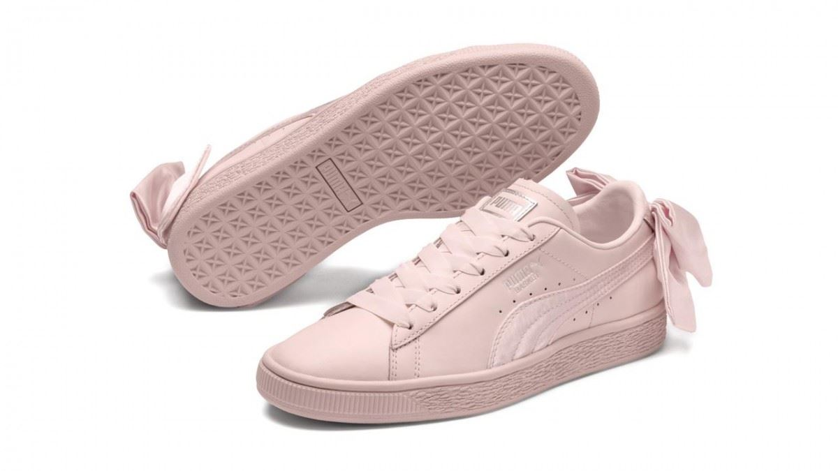 Puma-Suede-Bow-Womens-Trainers-RRP-70-Sizes-UK-3-to-7-5 miniatuur 7