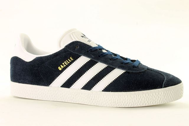 adidas gazelle zwart junior
