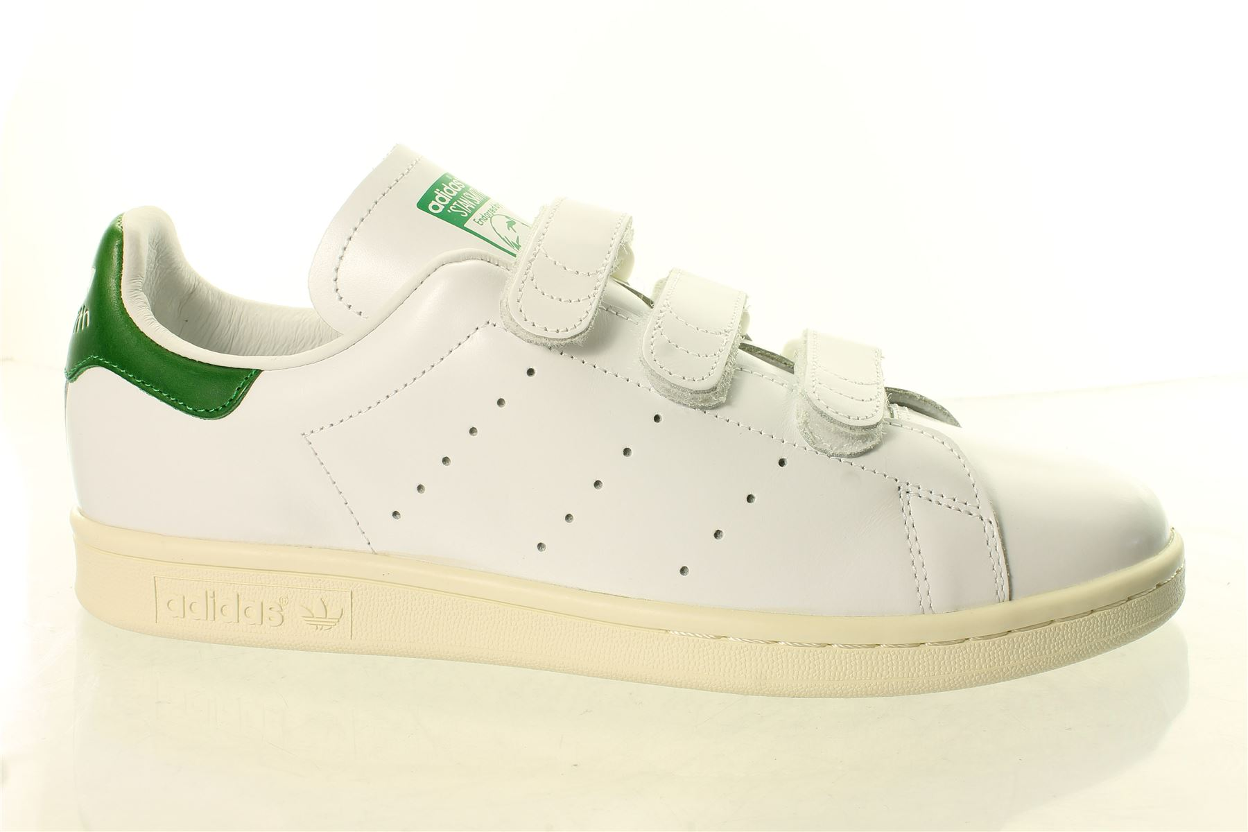 Mens Stan Smith Trainers, White, One Size adidas