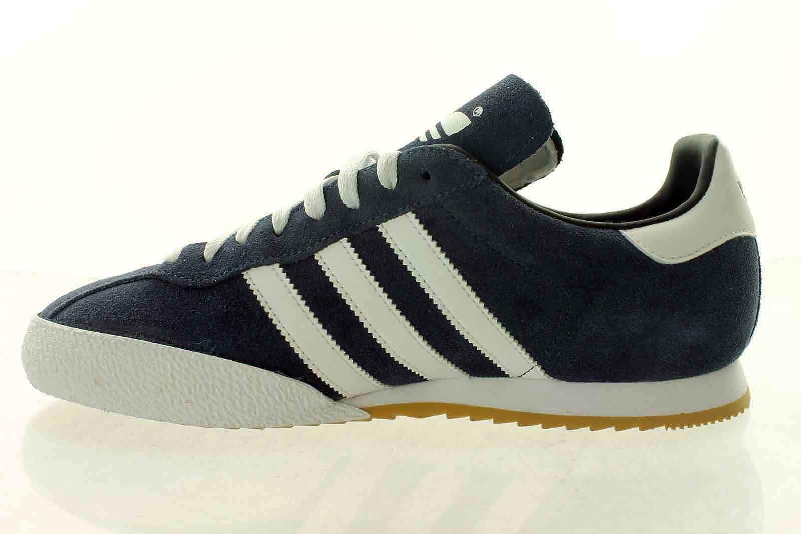 Adidas Nizza Trainers in blanc & & blanc vert - canvas pump rubber toe cap 351a7b