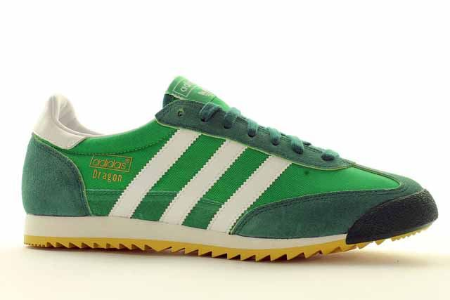 adidas dragon green