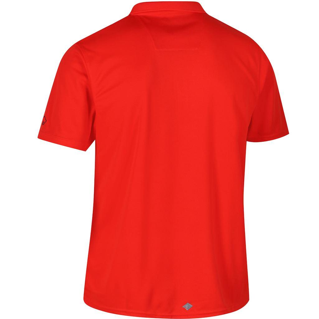 Regatta-Cordita-Mens-Maverick-IV-que-absorbe-la-humedad-de-secado-rapido-Camisa-Polo-30-APAGADO-PVP miniatura 5