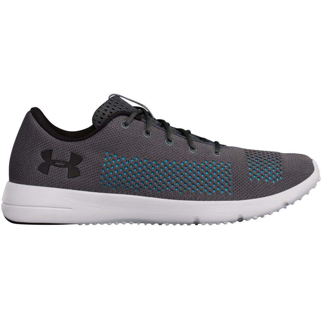 6a8f367f6e8ec Under Armour Rapid Mens Grey Cushioned Running Sports Shoes Trainers ...