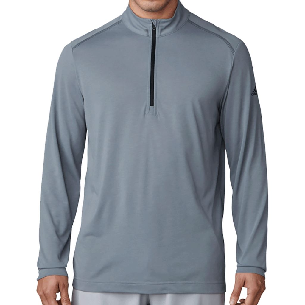 adidas-Golf-Lightweight-Layer-Performance-UPF-1-4-Zip-Mens-Pullover thumbnail 3